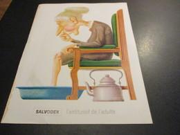 Feuillet Publicité Médicale - Médicament (21x27cm) - SALVODEX  L'antitussif De L'adulte - Advertising