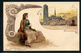 BELGIQUE - ANVERS - Malines - Les Dentelles - La Grand'Place - Mechelen