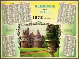 Almanach Des PTT 1972 - Plans Région Paris - Bobigny - Grand Format : 1971-80