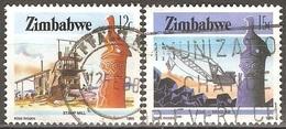Zimbabwe - 1985 - Aspects Du Zimbabwe - YT 89 Et 91 Oblitérés - Zimbabwe (1980-...)