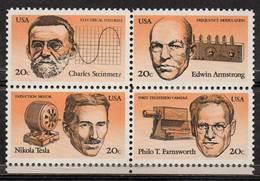 USA 1983 American Inventors - Neufs