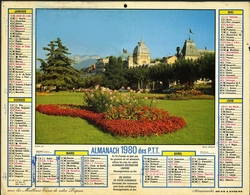 Almanach Des PTT 1980 - Paris - Bobigny - Créteil - Nanterre - Grand Format : 1971-80
