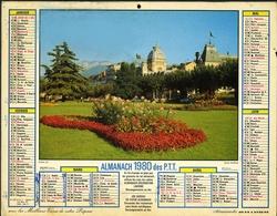 Almanach Des PTT 1980 - Paris - Bobigny - Créteil - Nanterre - Calendars