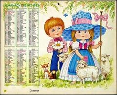 Almanach Des PTT 1982 - Marne (51) - Calendriers