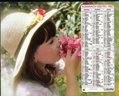 Almanach Des PTT 1987 - Gironde (33) - Calendriers