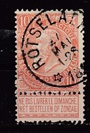 57 Gestempeld (sterstempel) ROTSELAER - COBA 30 Euro - 1893-1900 Fine Barbe
