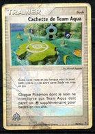 Carte Pokemon Trainer Cachette De Team Aqua (stade) / Édition Ex : Team Magma VS Team Aqua / N°78/95 / HOLO - Pokemon