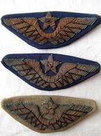 URSS RUSSIE SOVIETIQUE AILES AVIATION ARMEE AIR PILOTE CASQUETTE ??? A VOIR  ?? - Ecussons Tissu
