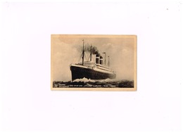 """Anvers.Red Star LIne.Steamer """"Lapland"""". - Dampfer"""