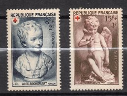 1949-- Lot De 2 Timbres Croix-Rouge--n° 876 - 877-- NEUFS** .....cote  7,10€...........à Saisir - France