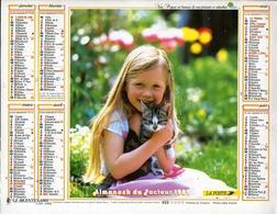 Almanach De La Poste 1989 - Bordeaux (33) - Calendriers