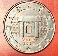 MALTA - 2017 - Moneta - Tempio Preistorico Di Imnajdra - Euro - 0.05 - Malta