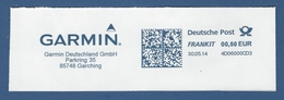 Deutsche Post FRANKIT - 0,60 EUR 2014 - 4D06000CD3 - GARCHING, Garmin Deutschland GmbH - Machine Stamps (ATM)