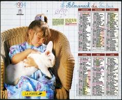 Almanach De La Poste 1994 - Bordeaux (33) - Calendriers