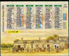 Almanach De La Poste 1994 - Paris Val-de-Marne - Calendriers