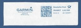 Deutsche Post FRANKIT - 0,62 EUR 2015 - 4D110006F1 - GARCHING, Garmin Deutschland GmbH - Machine Stamps (ATM)