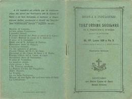 Libretto Regole Ed Indulgenze Terz'Ordine Secolare Sacro Cuore Di Gesù Busto Arsizio (98) Come Da Foto  Con Attestati 13 - Livres, BD, Revues