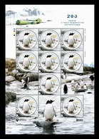 Ukraine 2020 Mih. 1857 Discovery Of Antarctica. Fauna. Penguins (M/S) MNH ** - Ukraine
