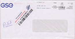 EMA Pitney Bowes St Priest Cedex 9 (Rhône) St Priest PIC 48 Rue Jean Zay  N° Cptable 695410 (fragment) - Freistempel