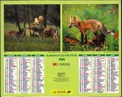 Almanach De La Poste 1996 -  Paris - Calendriers