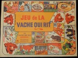 ANCIEN JEU DE L'OIE LA VACHE QUI RIT BONBEL FROMAGERIE BEL - Publicités
