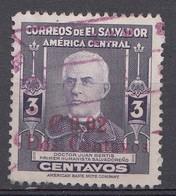 El Salvador 1952  Mi.nr: 684 Mit Aufdruck  Oblitérés - Used - Gebruikt - Salvador