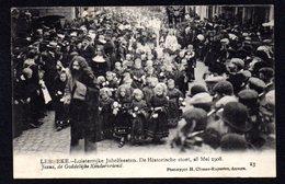 LEBBEKE - Luisterrijke Jubelfeesten Stoet - 28 Mei 1908 - Jezus De Goddelijke Kindervriend Phototypie Climant Anvers 13 - Lebbeke