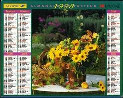 Almanach De La Poste 1998 -  Paris - Calendriers
