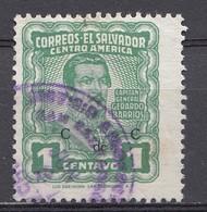 El Salvador 1953  Mi.nr: 716 Die Generäle  Oblitérés - Used - Gebruikt - Salvador
