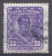 El Salvador 1953  Mi.nr: 722  Die Generäle  Oblitérés - Used - Gebruikt - Salvador