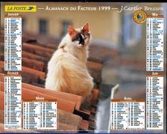 Almanach De La Poste 1999 -  Paris - Calendriers