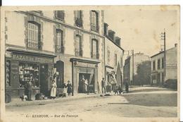 KERHUON  ( FINISTÈRE )  RUE DU PASSAGE - Francia