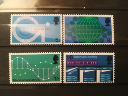 FRANCOBOLLI STAMPS GRAN BRETAGNA GREAT BRITAIN 1969 MNH** NUOVI SERIE COMPLETA COMPLETE TELECOMUNICAZIONI TELECOMMUNICAT - Nuovi
