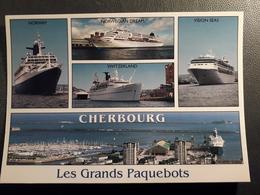 CHERBOURG LES GRANDS PAQUEBOTS NORWAY VISION SEAS - Cherbourg