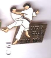 C61 Pin's Judo BILLY Mty Billy-Montigny PAS De CALAIS Achat Immédiat - Judo