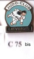 C75 Pin's JUDO LIEVIN LIEVINOIS  Pas-de-Calais Achat Immédiat - Judo