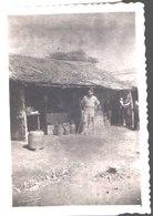Indochine .Viet Nam . Quartier De Olac. Au Poste D'Olac, Juin 1951, Zone Ouest . Véritable Photo - Guerra, Militares