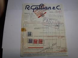 MILANO   - VIALE MONZA   -- AUTO --MOTO - BENZINA  - OLII ---   R. GALLIAN & C.  --  LUBRIFICANTI ROYAL MOTOROIL - Italia