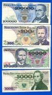 Pologne  9  Billets - Pologne