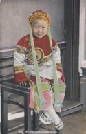 Chinese Maiden Young Chinese Girl In San Francisco, Fashion, C1910s Vintage Postcard - Asia