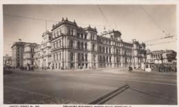Brisbane Queensland Australia, Treasury Buildings, C1920s/40s Vintage Sidues #823 Real Photo Postcard - Brisbane