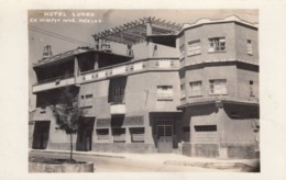 Hidalgo Mexico, Hotel Lumex Exterior View Architecture, C1940s/50s Vintage Real Photo Postcard - Mexico