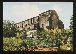La Chaize Le Vicomte (85) : L'église Romane. La Façade Sud Et Les Ruines De L'Abside - La Chaize Le Vicomte