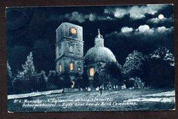 Scherpenheuvel - Montaigu -   Nr 4 L'église Vue De Côté La Nuit - Zijde Kant Kerk 's Nachts - Scherpenheuvel-Zichem