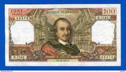 100 Fr  Du  2/12/1977 - 1962-1997 ''Francs''