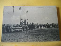 54 1014 CARROUSEL DE LA GARNISON DE LUNEVILLE (FETE DU 7 AOUT 1913) ANIMATION. - Militaria