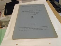 RHYOLITY NEJBLIZSIHO OKOLI KREMNICE THE RHYOLITES OF THE IMMEDIATE VICINITY OF KREMNICA 1953 - Livres, BD, Revues