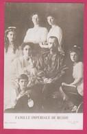 FAMILLE IMPÉRIALE DE RUSSIE Russia Imperial Family Romanov Nicolas II Tzar Czar ( REPRO ) - Familles Royales