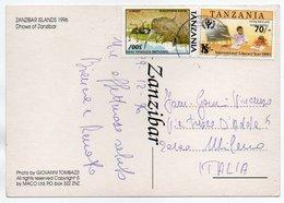 TANZANIA - DHOWS OF ZANZIBAR / THEMATIC STAMPS-INT.LITERACY YEAR (OVERPRINT) / RHINO - Tanzania
