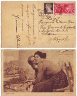 Arte Moderna Amori Santi - Viaggiata 1933 Anni '30 (C) - Donne